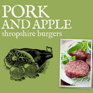 Pork and Apple Burgers